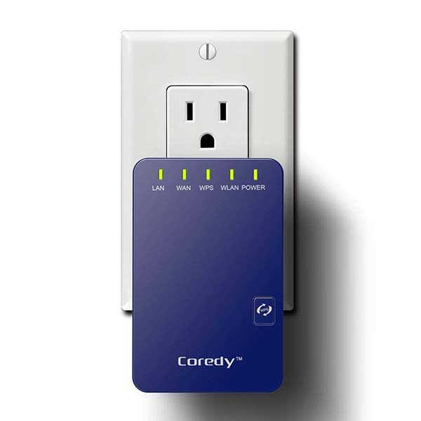 Coredy wn300 wifi extender with 2 ethernet ports supports - Wireless extender with ethernet ports ...