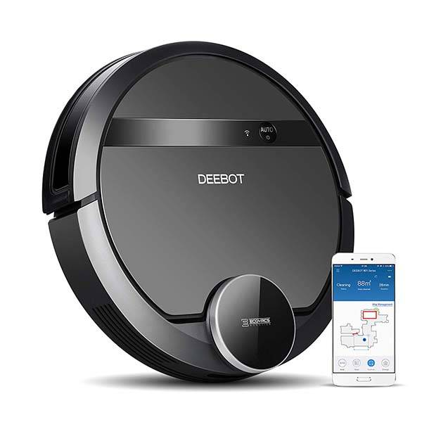 Ecovas DeeBot 901 Smart Robotic Vacuum Supports Amazon Alexa and Google Assistant