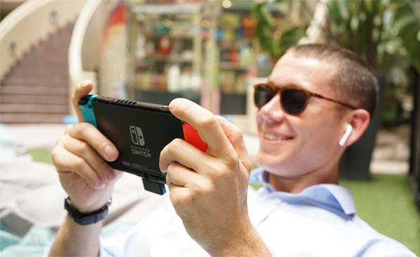 Genki Bluetooth Audio Receiver for Nintendo Switch