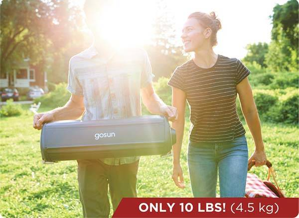 GoSun Fusion Solar and Electric Oven