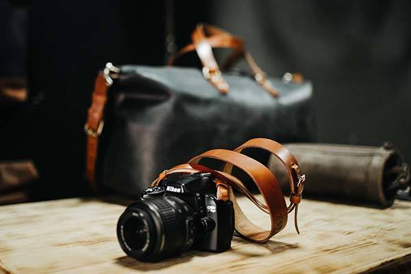 Handmade Customizable Leather Camera Strap