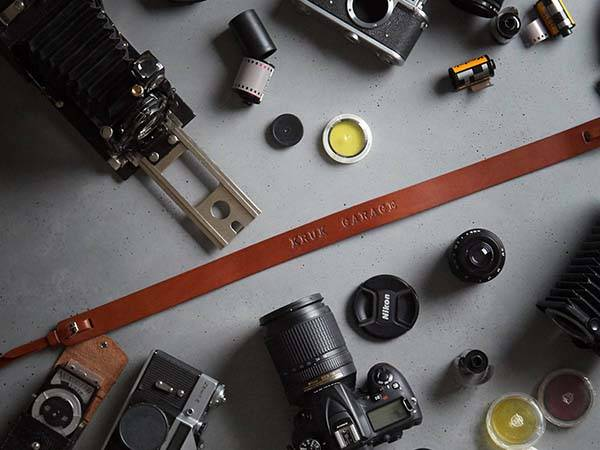 Handmade Customizable Leather Camera Strap