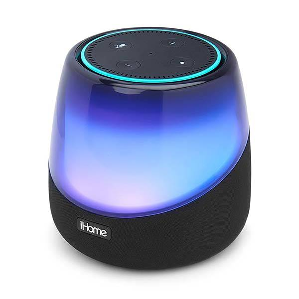 iHome iAV5 Color Changing Bluetooth Speaker for Amazon Echo Dot