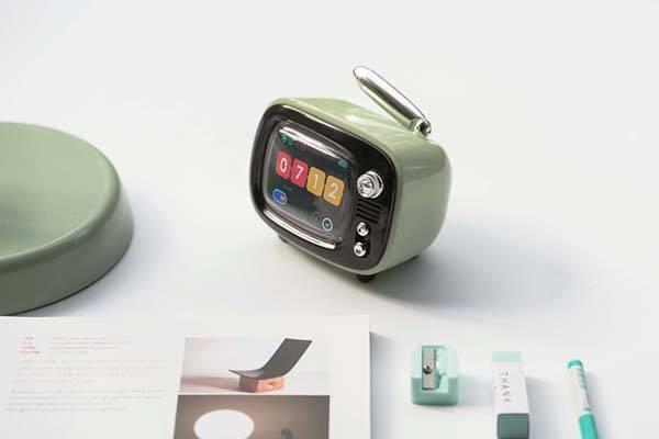 Lofree QTV Retro TV Inspired Portable Bluetooth Speaker