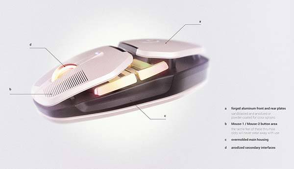 Logitech Salvo Concept Wireless Gaming Mouse