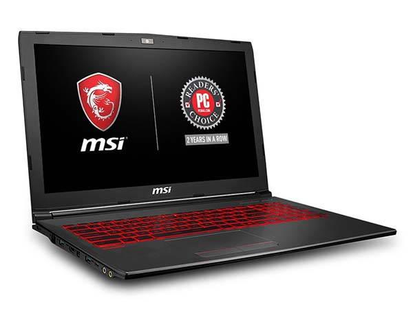 MSI GV62 8RD-200 Gaming Laptop