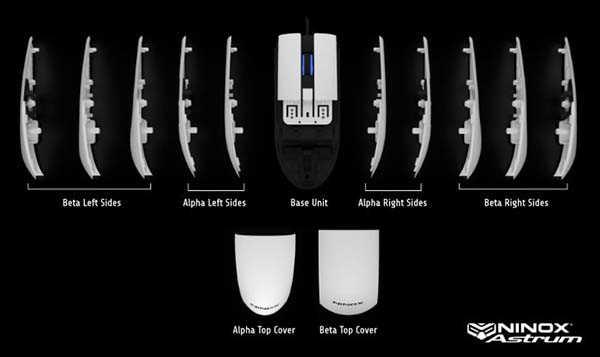 Ninox Astrum Modular Gaming Mouse