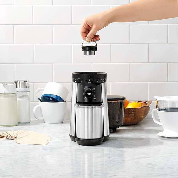 OXO Conical Burr Electric Coffee Grinder