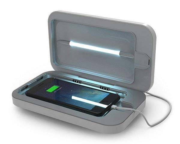 PhoneSoap 3 UV Phone Sanitizer and Phone Charger