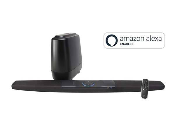 Polk Command Smart Sound Bar with Amazon Alexa