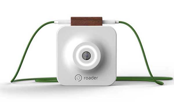 Roader Time Machine Wearable Video Camera
