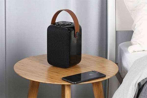 Sound-vessel Portable Bluetooth Speaker Supports Unlimited Extension