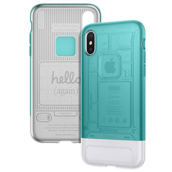 Spigen Classic C1 iPhone 8 Case Inspired by Apple iMac G3