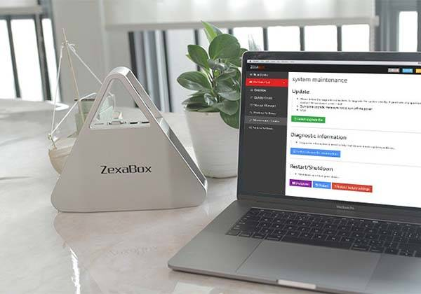 ZexaBox Decentralized Private Cloud Storage Device