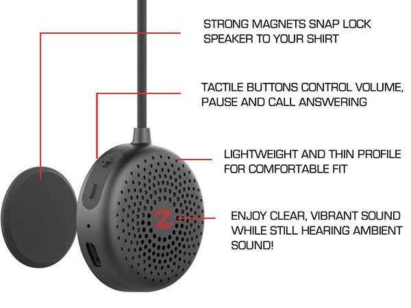 Zulu Audio Alpha Wearable Bluetooth Speaker