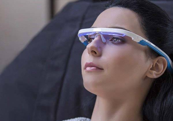 AYO App Enabled Blue Light Therapy Glasses