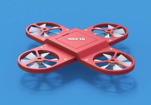 Blank Concept Modular Mini Drone