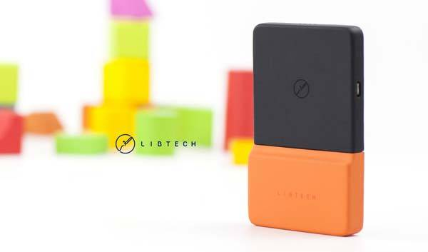 BrickPower Portable Wireless Charger Stays Attached to Your Phone