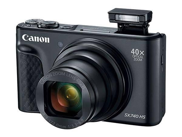 Canon PowerShot SX740 HS Compact Digital Camera