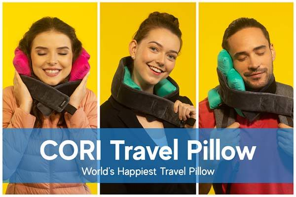 Cori Customizable Travel Neck Pillow