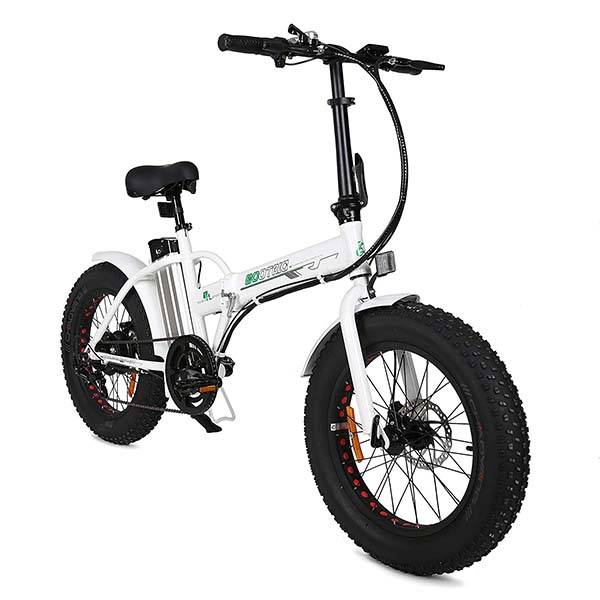 Ecotric All-Terrain Folding Electric Bike with Fat Tires