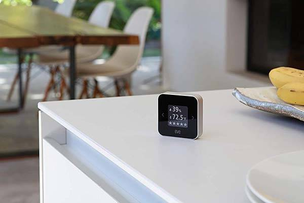 Elgato Eve Room Smart Indoor Air Quality Monitor with Apple HomeKit