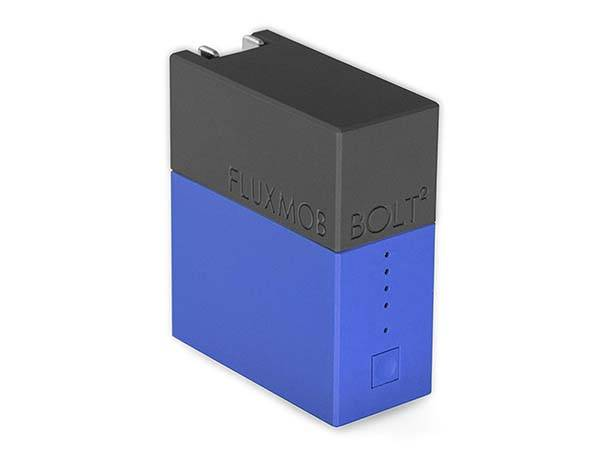 Fluxmob Bolt2 USB Wall Charger Doubles as Portable Power Bank