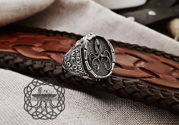 Handmade Game of Thrones Sterling Silver Rings