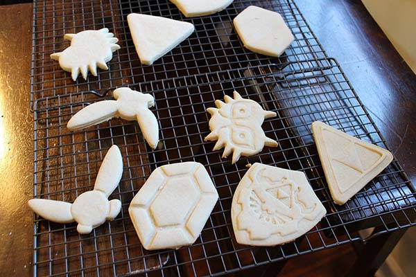 Handmade Legend of Zelda Cookie Cutters