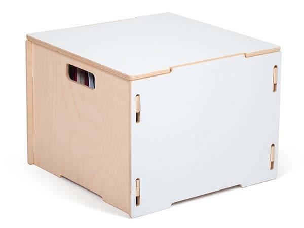 Handmade Modular Wooden Hanging File Box