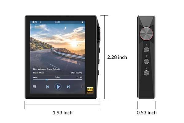 Hidizs AP80 Ultra Portable HiFi Music Player