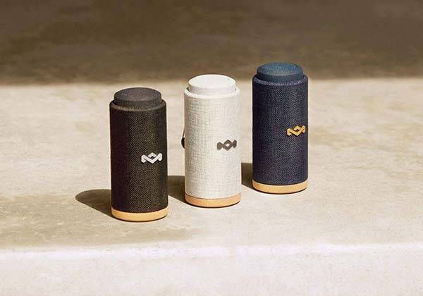 House of Marley No Bounds Sport Waterproof Bluetooth Speaker with Carabiner