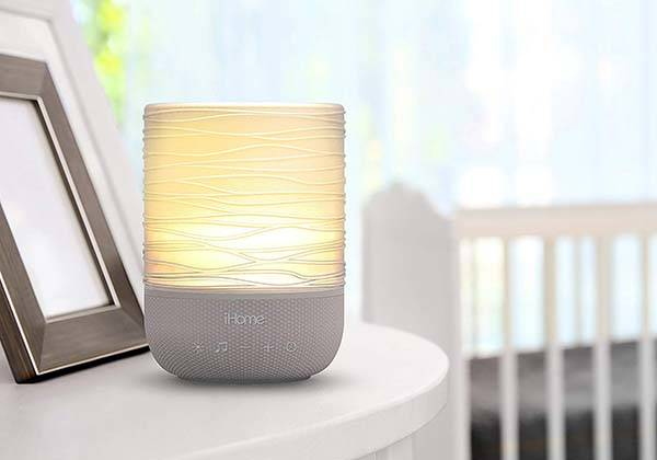 iHome Zenergy Meditative & Therapy LED Candle with Multiple Sound Options