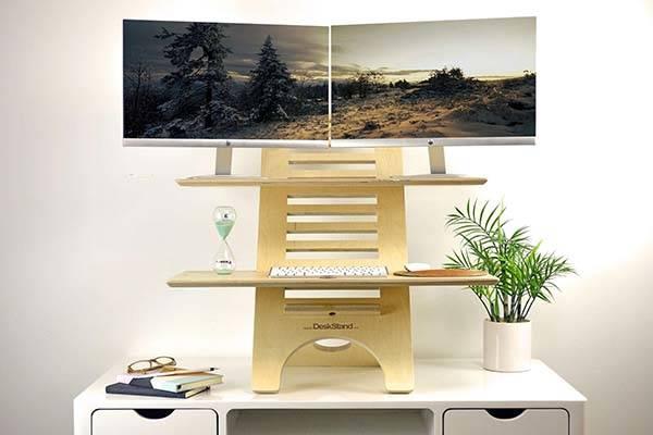 Jumbo Handmade Wooden Standing Desk