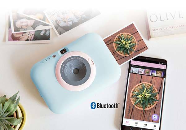 LG Pocket Photo Snap Instant Print Camera