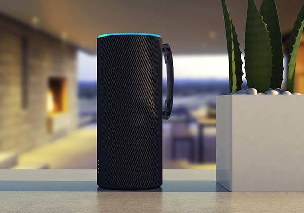 Ninety7 Sky Tote Portable Battery Base for Amazon Echo 2
