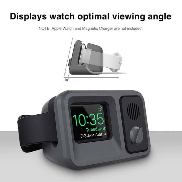 Oittm Vintage TV Styled Apple Watch Charging Stand