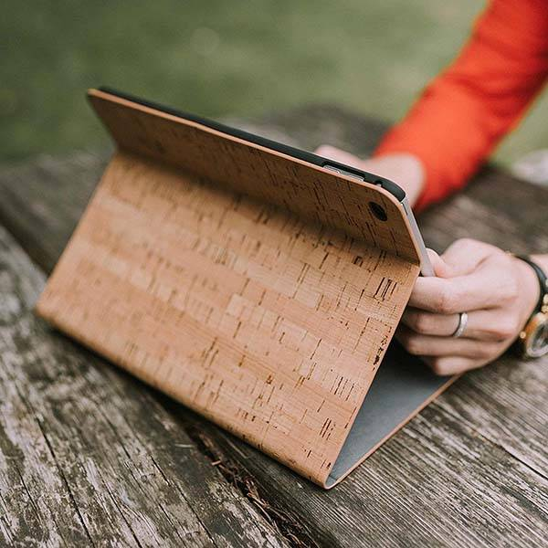 Reveal Cork Wood iPad Case