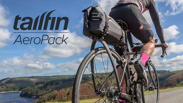 Tailfin AeroPack Rolltop Waterproof Bicycle Bag and Rack