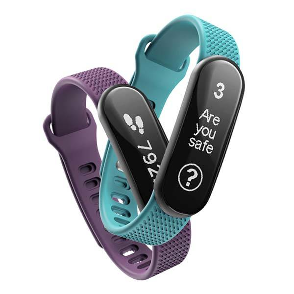 Tended Protect Smart Fitness Tracker with Safety Monitoring