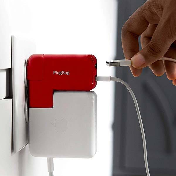 Twelve South PlugBug Duo MacBook Travel Adapter with Two USB Ports