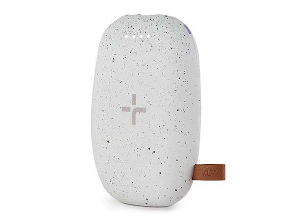 TYLT Pebble Portable Wireless Charger with Power Bank