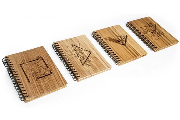 WOOK Wooden Smart Notebook and Planner