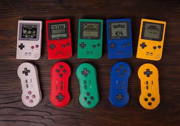 8Bitdo Sn30 Bluetooth Gamepad Inspired by Game Boy
