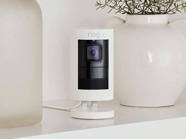 All-New Ring Stick Up Cam Wired HD Security Camera
