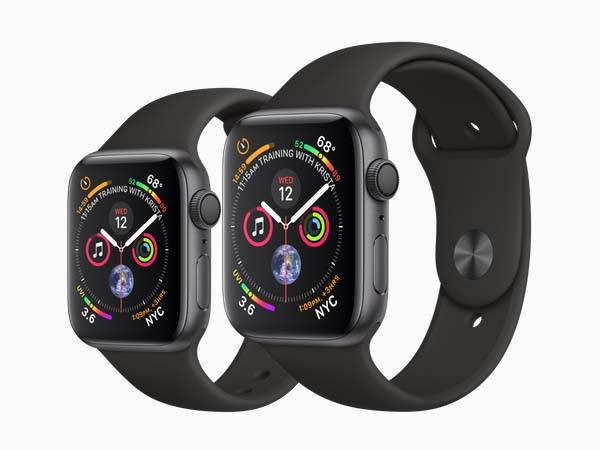 Apple Watch Series 4 with ECG and Fall Detection