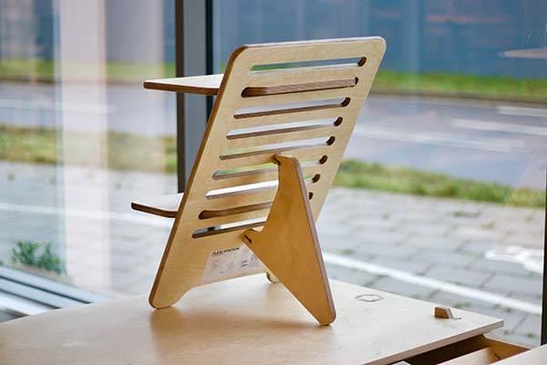 Flexi Station Handmade Wooden Standing Desk