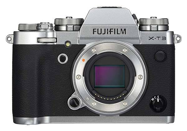 Fujifilm X-T3 Mirrorless Camera with 4K/60p Video Recording