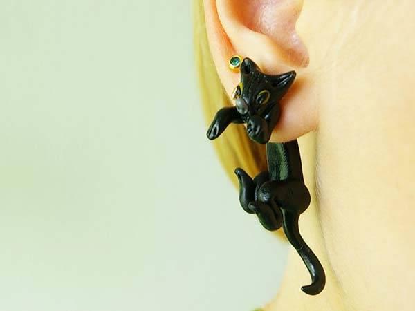 Handmade Halloween Themed Earrings