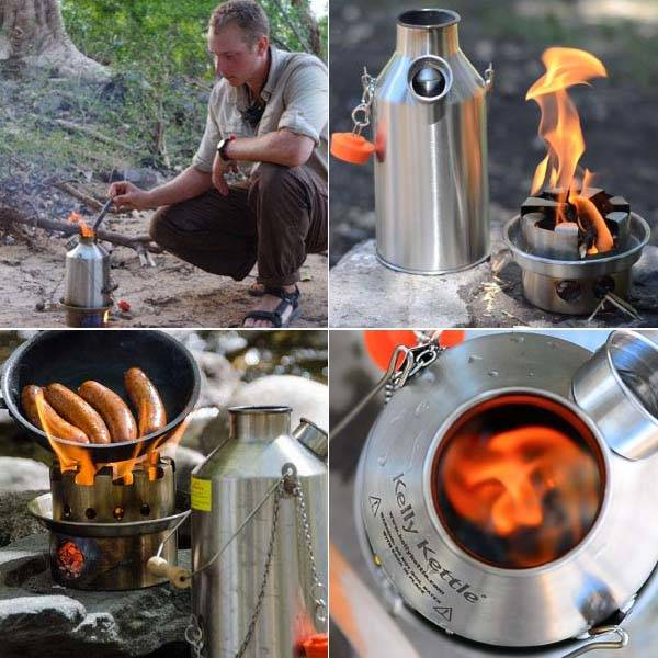 Kelly Kettle Stainless Steel Camp Stove